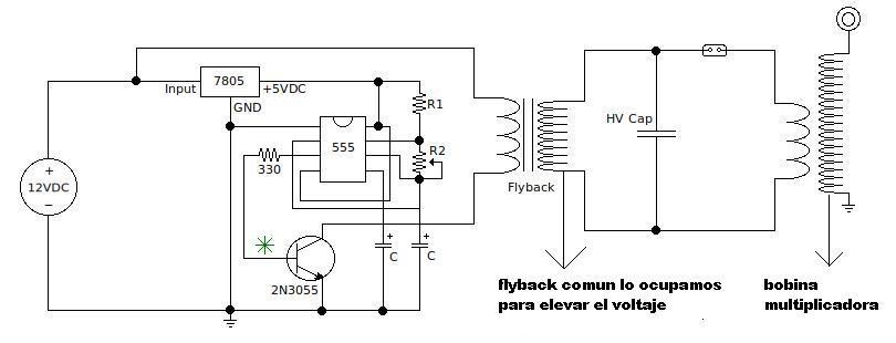 Circuito Bobina De Tesla : Conoce la bobina de tesla y como realizarla taringa