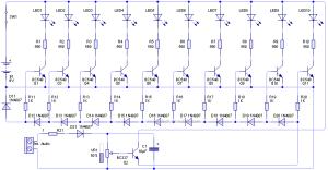 vumetro-transistores