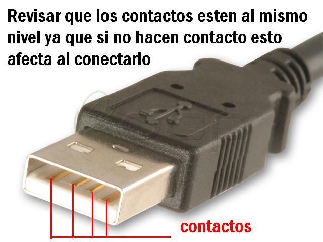 Conector usb reparación