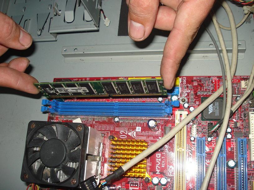 Desmontando RAM