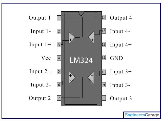 Aplificador operacional LM324