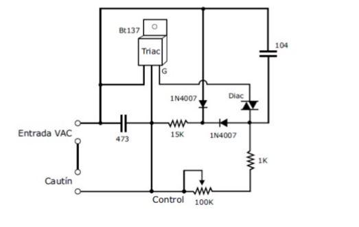 Circuito Que Produzca Calor : Control de temperatura para cautin