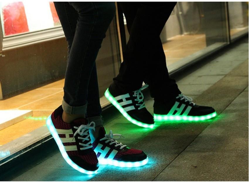 zapatos led ejemplo