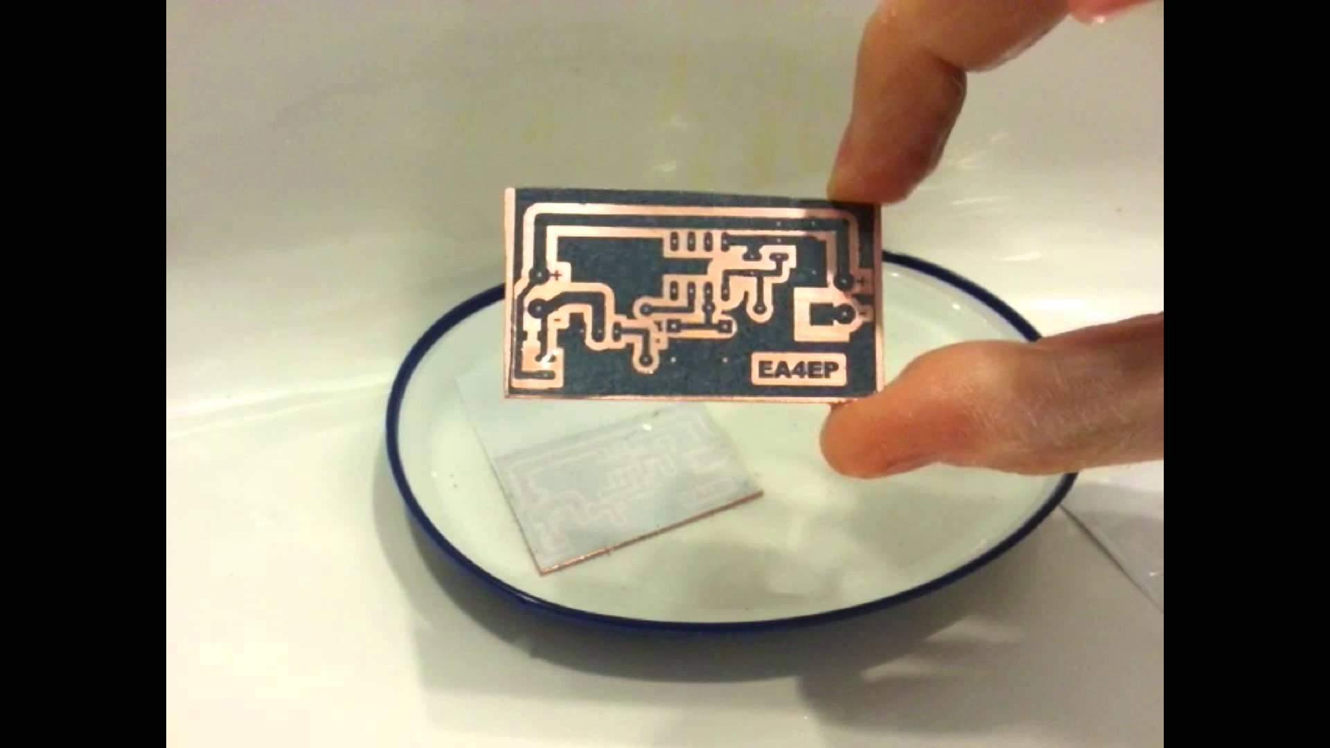 ejemplo placa cobreada con circuito