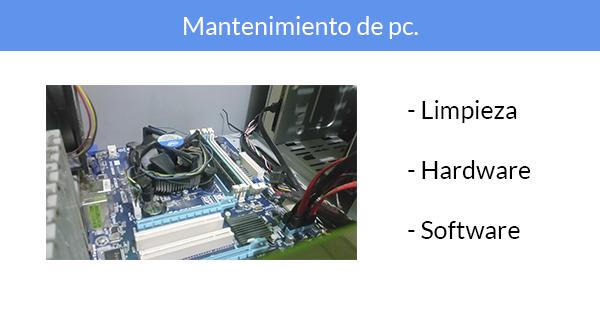 presentacion curso mantenimiento pc