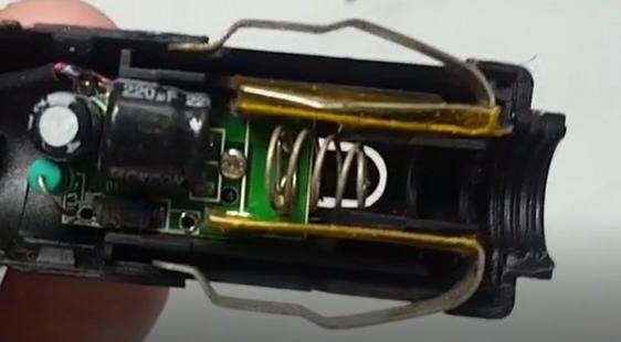 tarjeta electronica fuente de transmisor RF