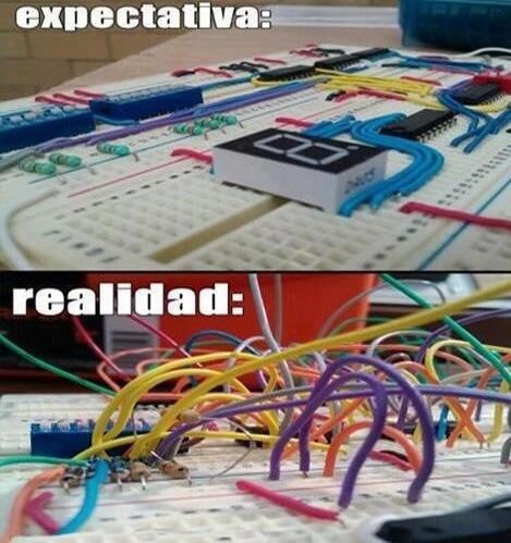 expectativa realidad circuito